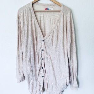 ONE SIZE Free People beach oversized cardigan